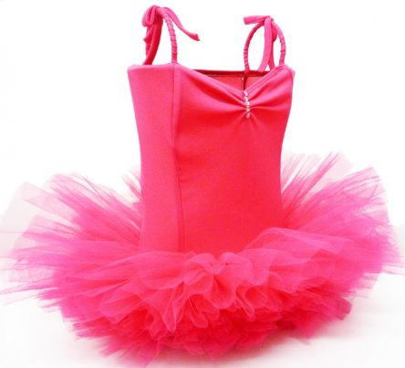 Fairy Girls Ballerina Tutu Lamp - Hot Pink