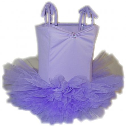 Fairy Girls Ballerina Tutu Lamp - Lilac