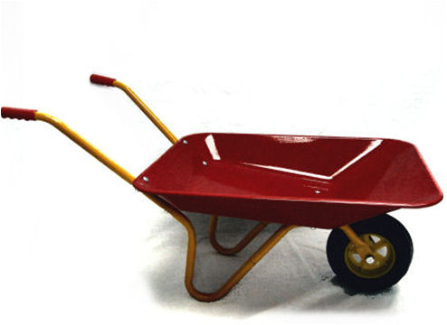 Little Blokes Child's Toy Metal Wheelbarrow