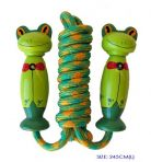 Fun Factory Wooden Skipping Jump Rope - Frog