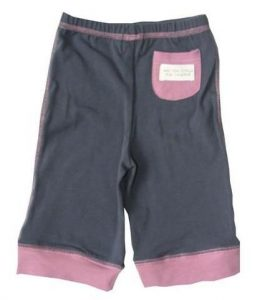 Boys Slate Blue Pants with Cuffs and Pocket