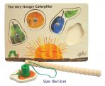 The Very Hungry Caterpillar Wooden Puzzle Magnetic Game