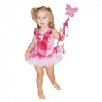 Fairy Girls Velvet Garden Tutu Dress - Size Lge (6-8 years)