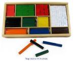 Fun Factory Wooden Cuisenaire Rods - 308pc Set
