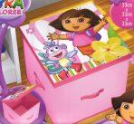 Dora The Explorer Storage Toy Box 33cm