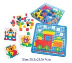 Hana Educational Geometric Pattern Play Set - 490pc