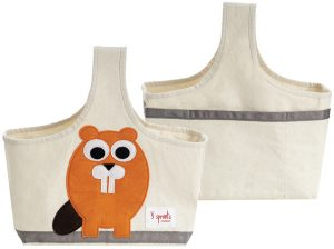 3 Sprouts Organic Storage Caddy - Beaver