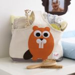 3 Sprouts Organic Storage Caddy - Owl