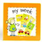 Glottogon Educational Books - My Week - English