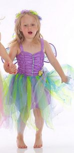 Lucy Locket Garden Fairy Dress - Lilac
