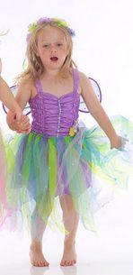 Lucy Locket Garden Fairy Dress - Lilac