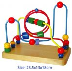 Fun Factory Educational Wooden Activity Toy BEAD MAZE