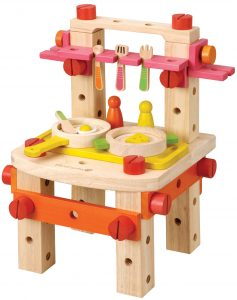 EverEarth Wooden Kitchen Set with Accessories