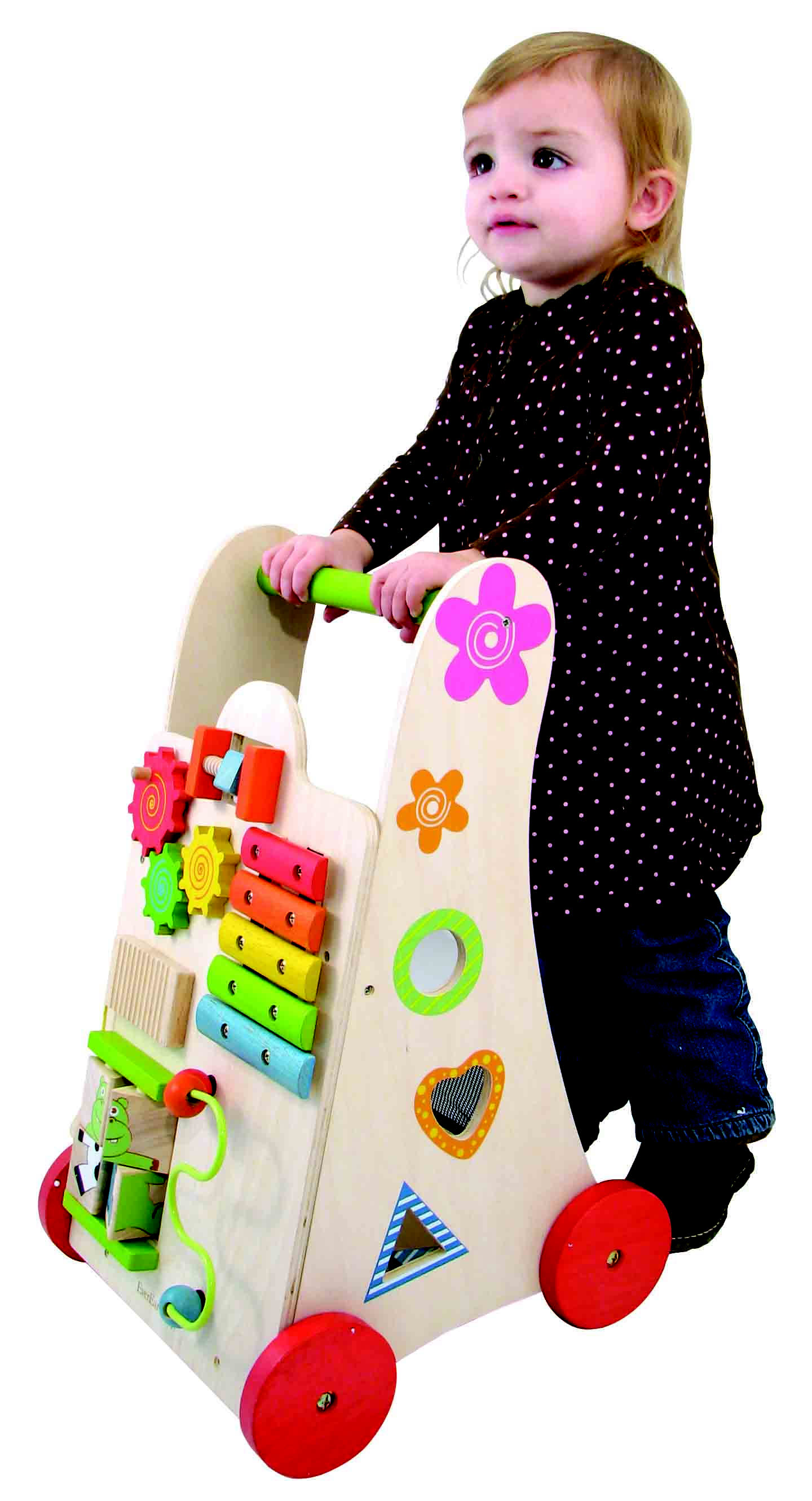 EverEarth Wooden Activity Walker Children