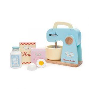 Le Toy Van Honeybake Wooden Kitchen Mixer Set