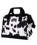 Sachi Insulated Lunch Tote Bag - Cow Print