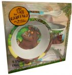 The Gruffalo Melamine Dinner Set 5pc