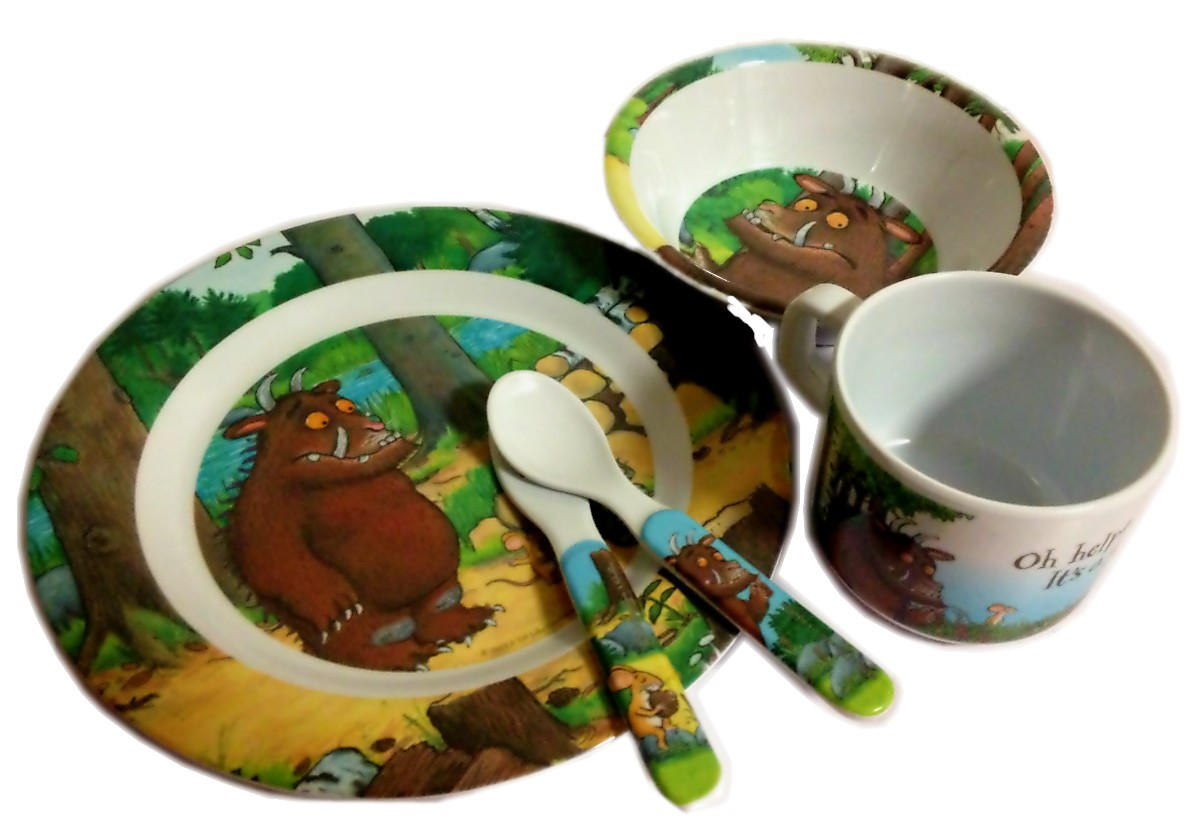 The Gruffalo Melamine Dinner Set 5pc  sc 1 st  Baby Vegas & The Gruffalo Melamine Dinner Set 5pc | Baby Vegas