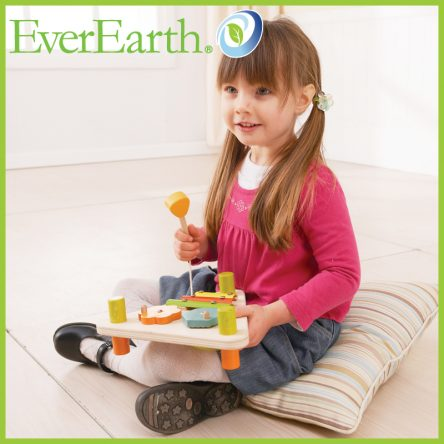 EverEarth Flip Over Triangle Musical Set