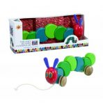 The Very Hungry Caterpillar Wooden Pull Along 30cm