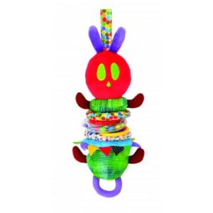 The Very Hungry Caterpillar Wiggly Jiggly Hanging Pram Toy
