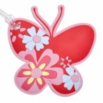 Bobble Art Luggage Baggage Tag - Butterfly