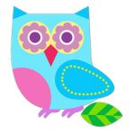 Olive Kids Wall Decal Cut Outs - Hoot Owl