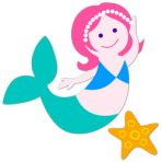 Olive Kids Wall Decal Cut Outs - Mermaids
