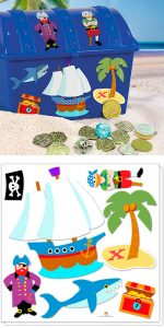 Olive Kids Wall Decal Cut Outs - Pirates