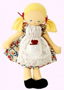 Alimrose Designs Soft Doll - Goldilocks 36cm