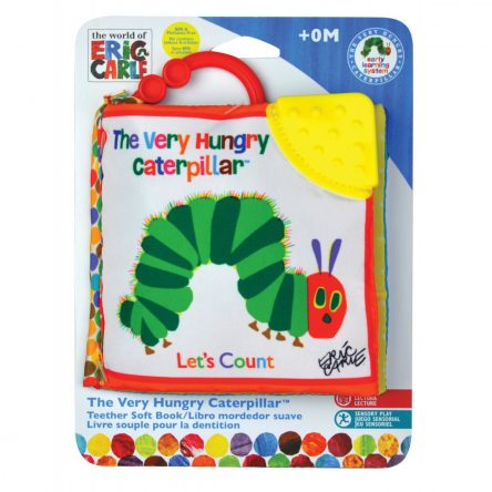 The Very Hungry Caterpillar 'Let's Count' Soft Clip On Book