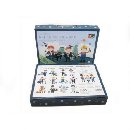 Koala Dream Magnetic Play Set in Tin Case - Dress to Work Boy