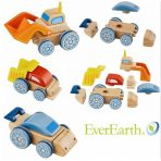 EverEarth Wooden Interchangeable Vehicle