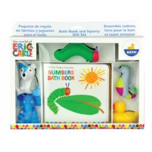 The World of Eric Carle - Hungry Caterpillar Bath Book & Toy Set
