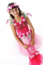 Fairy Girls Primrose Fairy Dress - Pink