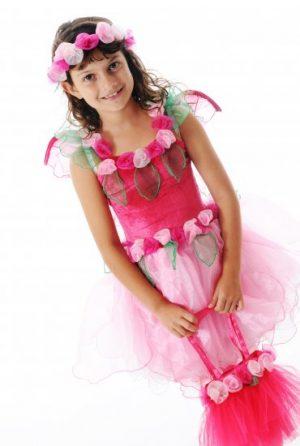Fairy Girls Primrose Fairy Dress - Pink
