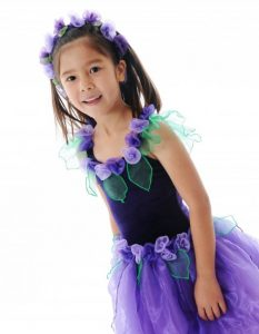 Fairy Girls Primrose Fairy Dress - Purple