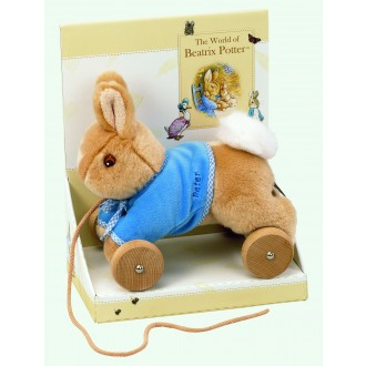 Beatrix Potter Pull Along Soft Bunny Peter Rabbit
