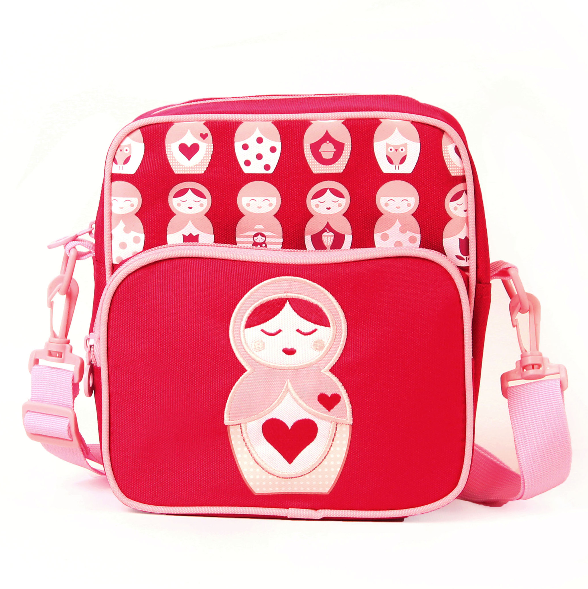 Penny Scallan Junior Messenger Bag - Russian Doll