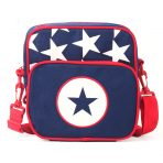 Penny Scallan Junior Messenger Bag - Navy Star
