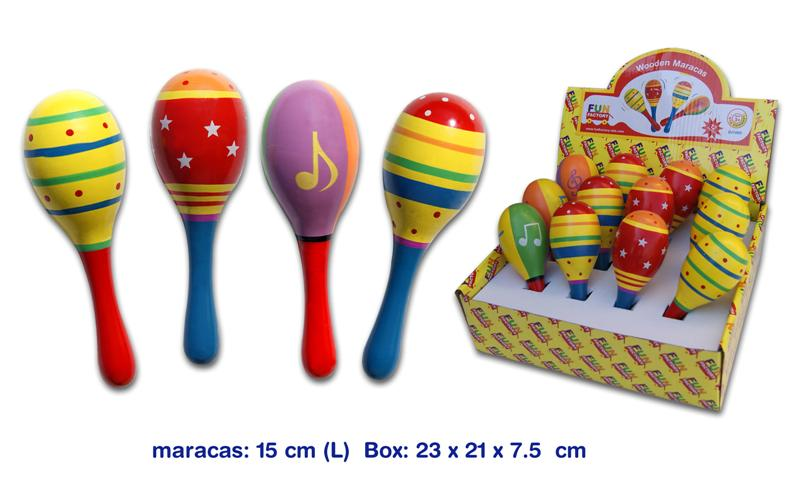 Fun Factory Wooden Shaker Maraca 15cm