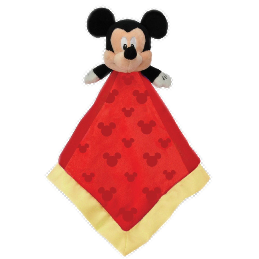 Disney Mickey Mouse Baby Blanket Snuggle Buddy