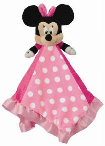 Disney Minnie Mouse Baby Blanket Snuggle Buddy