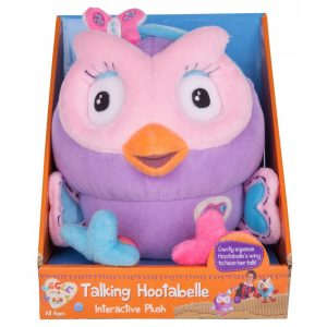 Giggle & Hoot Interactive Plush Talking 'Hootabelle' Owl