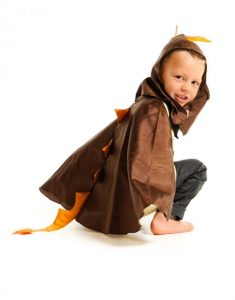 Little Heroes Stegosaurus Dinosaur Cape Dress Up