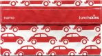 Lunchskins SNACK Bags - Reusable Lunch Bag - Cars Red