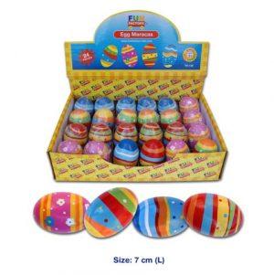 Fun Factory Wooden Egg Shaker Maraca 7cm