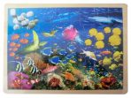 Fun Factory Educational Wooden Puzzle Ocean Sea Life 48pc