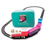 Apples to Pears Toy Train Set in Storage Tin - Battery Operated