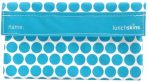 Lunchskins SNACK Bags - Reusable Lunch Bag - Dots Aqua
